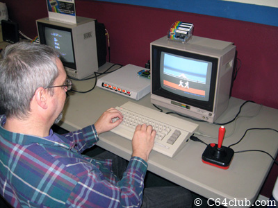 Karataka on the C64C - Commodore Computer Club