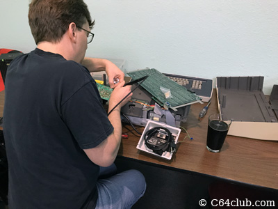 Jared hacking modding and repair - Commodore Computer Club