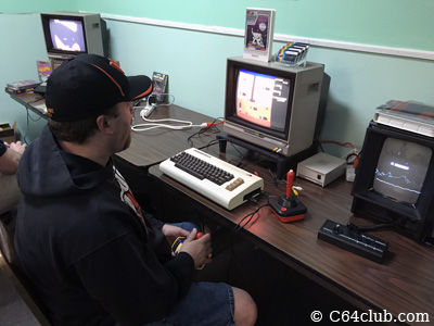VIC-20 Atari Dig Dug Game - Commodore Computer Club