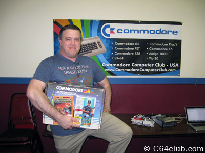 Captain Morgan Raffle Winner - Commodore Computer Club