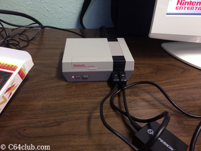 Nintendo NES Mini Video Game Console - Commodore Computer Club