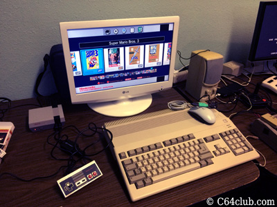 Amiga, Nintendo NES Mini Comparison - Commodore Computer Club