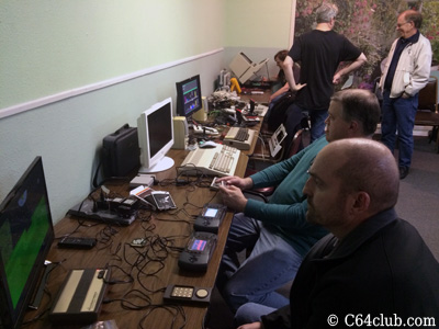 Atari Lynx, C64, IntelliVision Flashback Commodore Computer Club