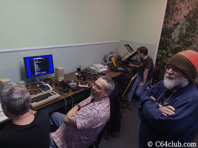 Chad, Tommy, George C64 Friends - Commodore Computer Club