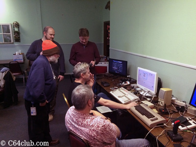 George, Mike, Aaron, Chad, Tommy C64 Club - Commodore Computer Club