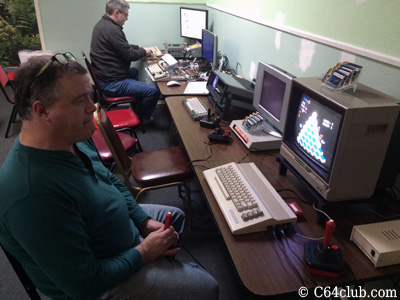 Qbert C64C, EasyFlash 3, SX-64 Executive - Commodore Computer Club