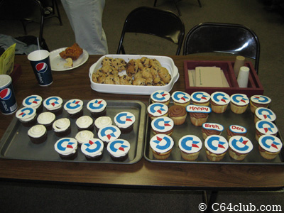 Cupcakes with Commodore Logos - Commodore Computer Club