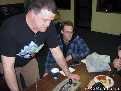 Captain Morgan, Chris Joystick controller - Commodore Computer Club