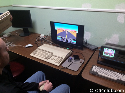 Doug Amiga 500, SX-64 Executive - Commodore Computer Club