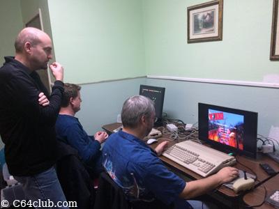 Doug, Aaron, Tommy Vampire Amiga 500 - Commodore Computer Club