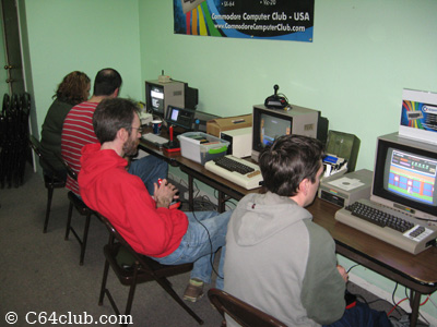 Playing Games - Commodore Computer Club