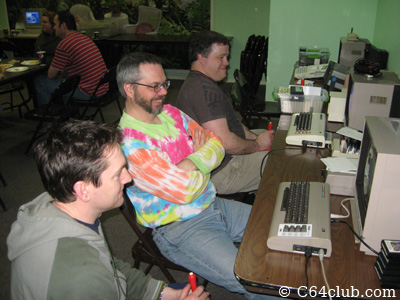 Members Playing Games - Commodore Computer Club