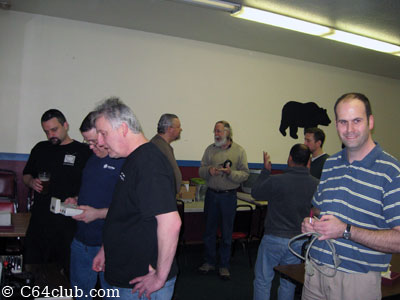 Socializing C64 Club Members - Commodore Computer Club