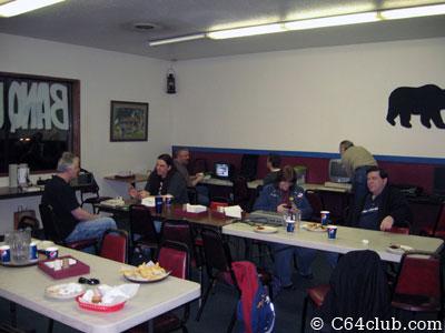 Pied Piper Pizza Dinner Buffet - Commodore Computer Club