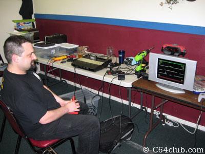Jeff Atari 5200 Video Mod Success Demo - Commodore Computer Club