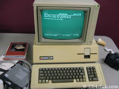 Conrad's Apple III 3 Computer Presentation - Commodore Computer Club