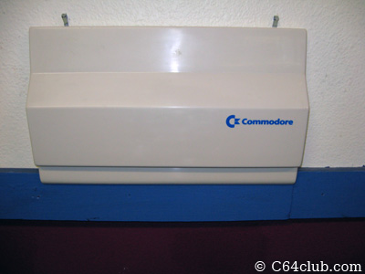 C64c Hard Shell Dust Cover - Commodore Computer Club