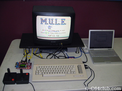 Commodore Flyer, MULE, Network Switch, EasyFlash, C64C - Commodore Computer Club