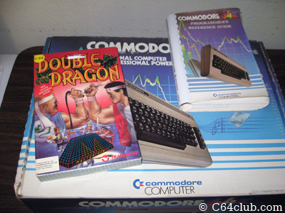 Complete In Box Commodore 64, Double Dragon, Programmers Reference Guide PRG - Commodore Computer Club