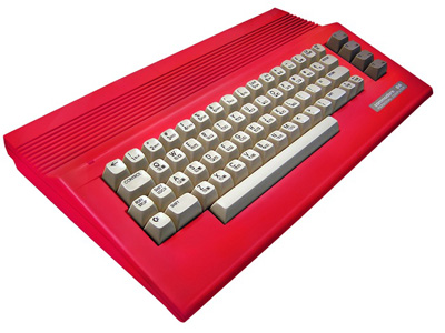 Commodore 64c Red Housing