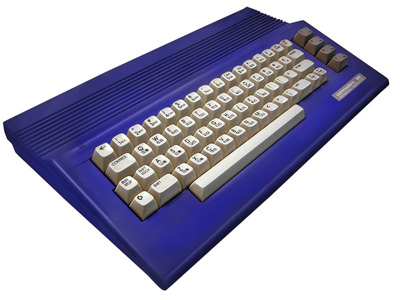 Commodore 64c Royal Blue Housing