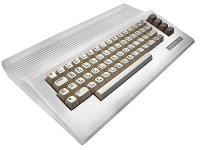 Commodore 64c White Housing
