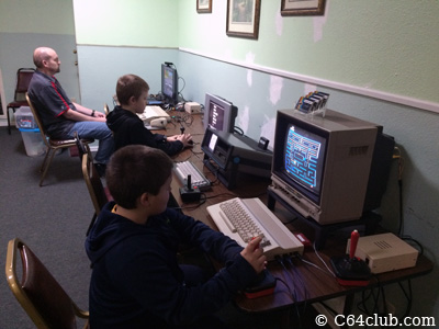 C64 SX-64 Video Gaming Fun - Commodore Computer Club