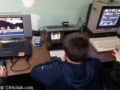 TurboGrafx-16 TG16, SX-64, C64C - Commodore Computer Club
