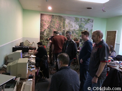 Clay Cowgill and C64 Friends - Commodore Computer Club