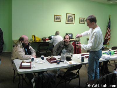 Jeremy, Brandon, Gregory - Commodore Computer Club