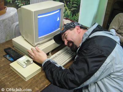 The Immortal John Hancock loves his Amiga 1000 - Commodore Computer Club
