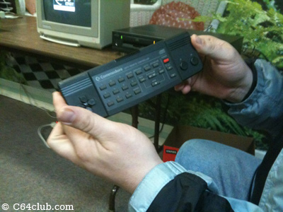 CDTV Remote Controller - Commodore Computer Club