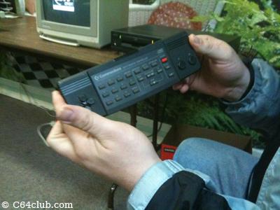 CDTV Remote Controller - Commodore Computer Club
