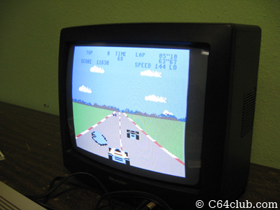 Atari Pole Position - Commodore Computer Club