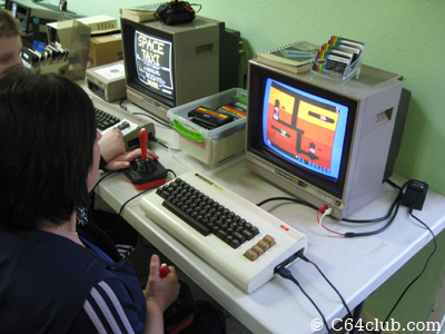 Space Taxi and Dig Dug - Commodore Computer Club