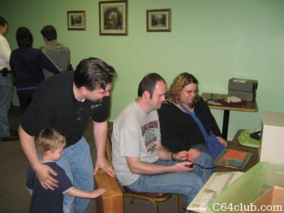 Playing games on the Amiga 500 - Commodore Computer Club