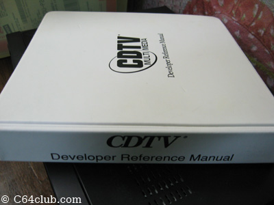 CDTV Developer Reference Manual - Commodore Computer Club