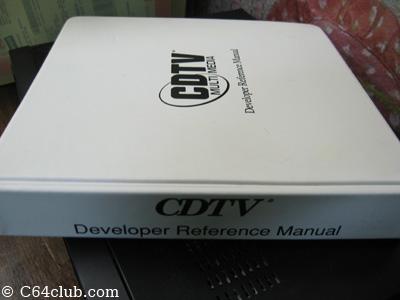 CDTV Developer Reference Manual - Commodore Computer Club