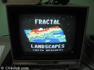 Fractal Landscapes on a C64 - Commodore Computer Club