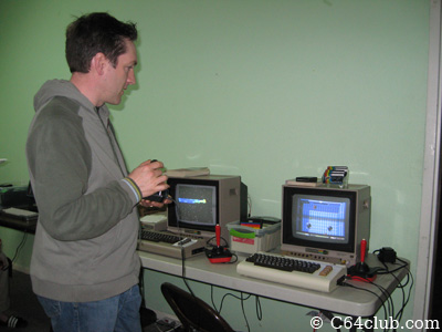 Playing games on the Jeri Ellsworth C64DTV - Commodore Computer Club