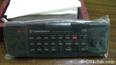 New Old Stock CDTV Remote Controller - Commodore Computer Club