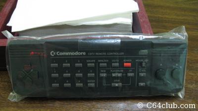 New Old Stock CDTV Remote Controller - Commodore Computer Club