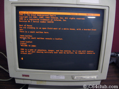 Zork Digital Raspberry Pi - C64 Commodore Computer Club