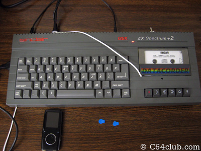 Ryan's Sinclair ZX Spectrum +2 - Commodore Computer Club