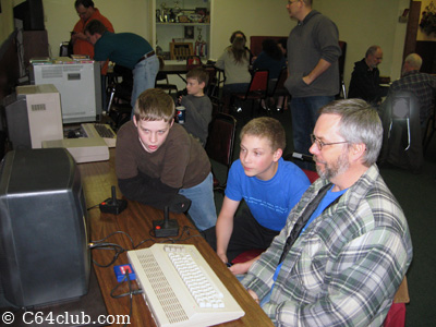 Tom and Ian Archon Game Time - Commodore Computer Club