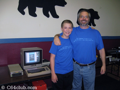 Matching C64 Blue Screen T-Shirts - Commodore Computer Club