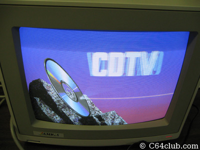 CDTV Amiga 500 Boot Screen - Commodore Computer Club