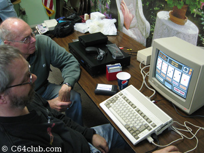 Playing card game Amiga 600 - Commodore Computer Club