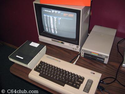 Commodore 64, 1541 disk drive, 1702 monitor - Commodore Computer Club