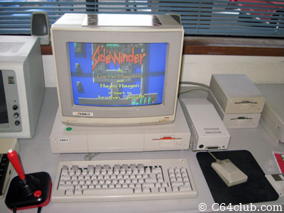 Sidewinder Amiga 1000 Video Game - Commodore Computer Club